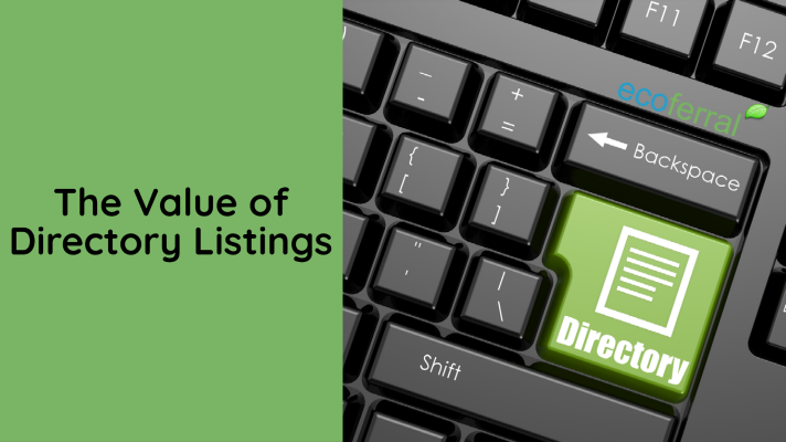 the value of directory listings
